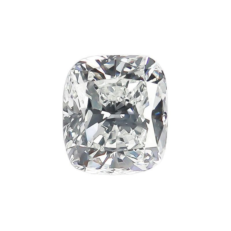 J. Birnbach Loose GIA Certified 6.71 Carat H VS2 Cushion Brilliant Cut Diamond