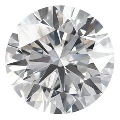 J. Birnbach Loose Certified 4.51 Carat E VS2 Round Brilliant Diamond