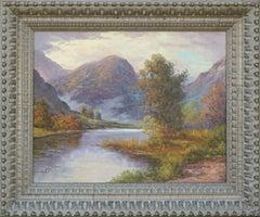 Autumnal Mountain Stream Landscape