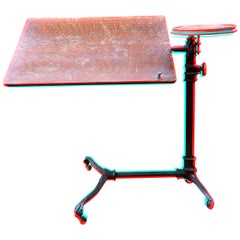 J. Foot & Son, London Iron and Oak Drafting Table
