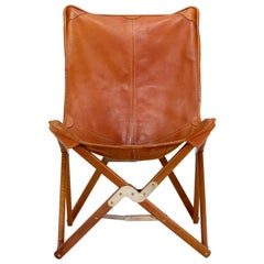 J. Hardy Folding Bat Chair, Denmark, 1970s