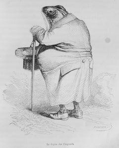 Scènes de la Vie [...] - Rare Book Illustrated by J. J. Grandville - 1852