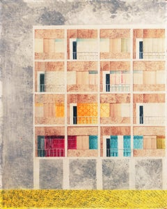 'Architectural', Exhibited at Buffalo Fine Arts Academy, Albright Art Gallery