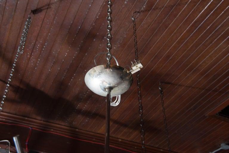 J. & L. Lobmeyr Starburst Chrome, Crystal Chandelier, by Hans Harald Rath For Sale 2