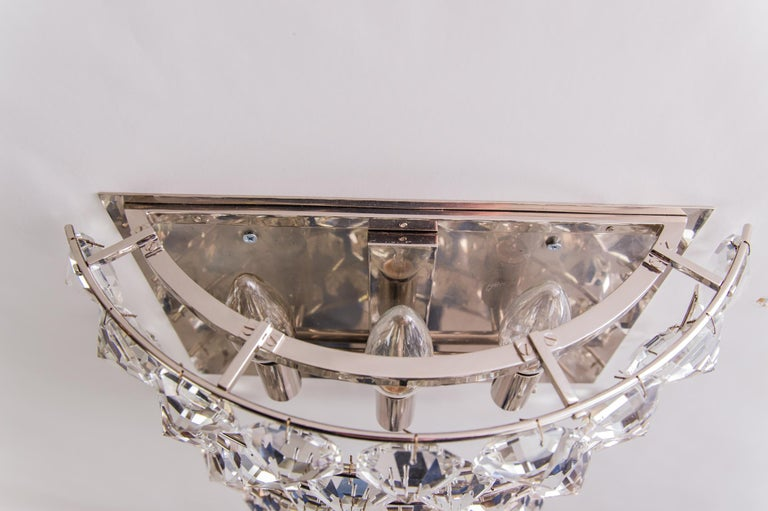 Mid-20th Century J & L Lobmeyr Wall Lamp 1950s 'Signed' For Sale