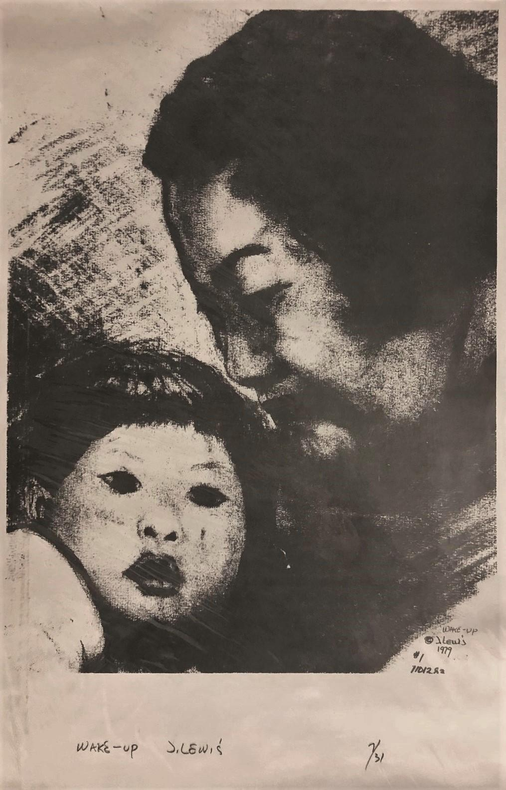 """""""Wake-Up"""" Limited Edition Etching, 7/31"""
