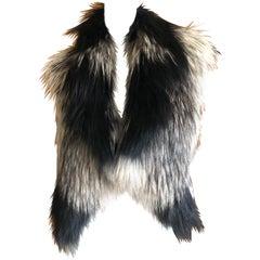 J. Mendel Paris Knit Fox Vest