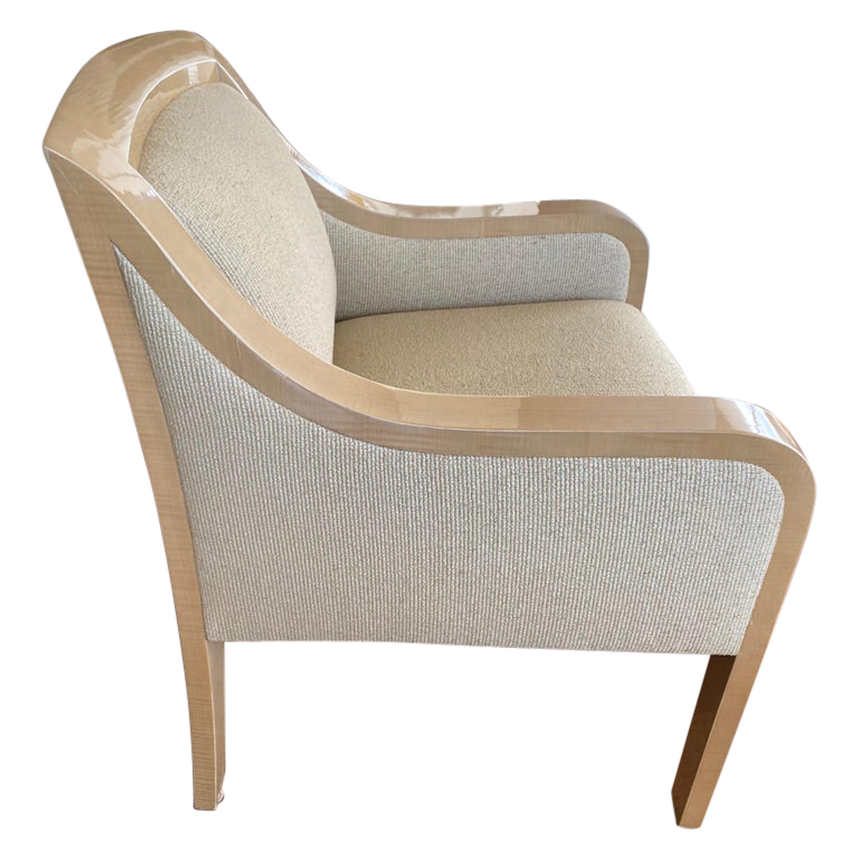 J. Robert Scott Modern Wooden Armchair
