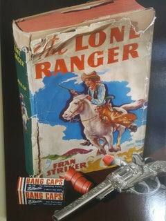 Lone Ranger Original Oil Painting by Photorealist J. Scott Nicol