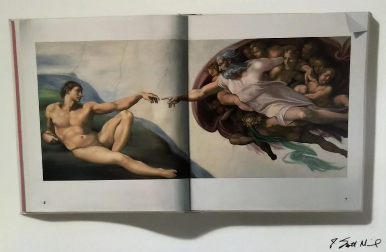 J. Scott Nicol Still-Life Painting - The Creation of Adam -- Original Oil Painting -- Please watch attached video