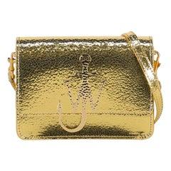 J. W. Anderson Woman Shoulder bag Gold Leather