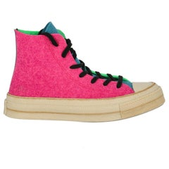 J. W. Anderson Woman Sneaker Blue, Green, Pink EU 37.5