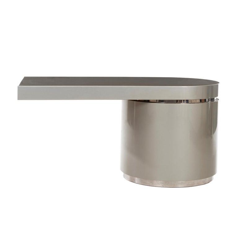 """J. Wade Beam """"Ponte"""" Cantilevered Desk For Sale"""