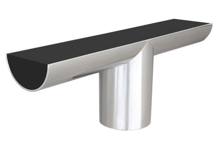 "J. Wade Beam ""Tee"" Console for Brueton For Sale"
