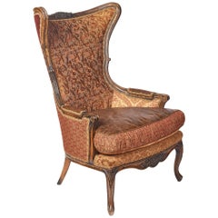 J. Zimmerman Wingback Chair by Key City Furniture