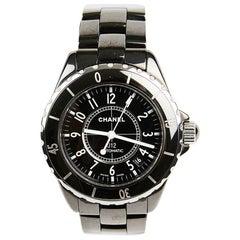 J12 CHANEL Ceramic Black Watch