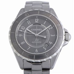 J12 Grey Ceramic Automatic H2934, Certified Authentic