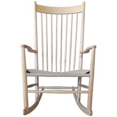 J16 Rocking Chair by Hans Wegner, Denmark, 1960s