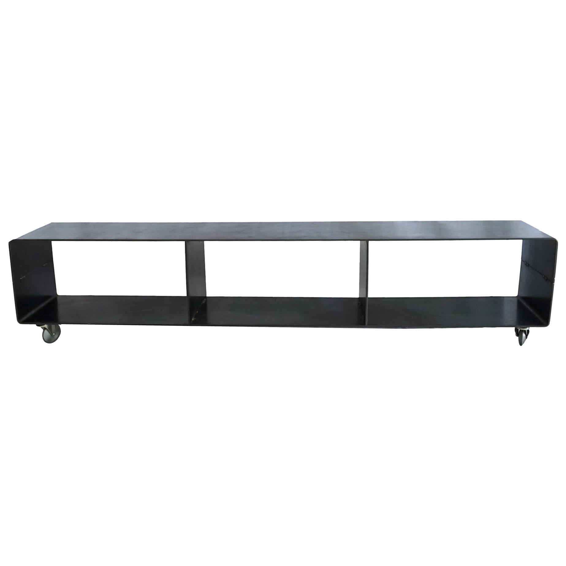 J3 Blackened Steel Bookcase by Edelman New York
