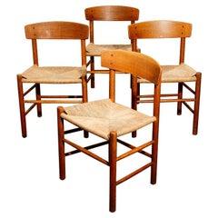 'J39' Chairs by Børge Mogensen