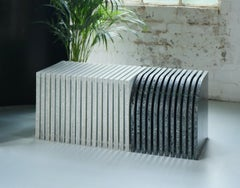 Jää - Sustainable Indoor and Outdoor Bench Made with 100% Recycled Plastic