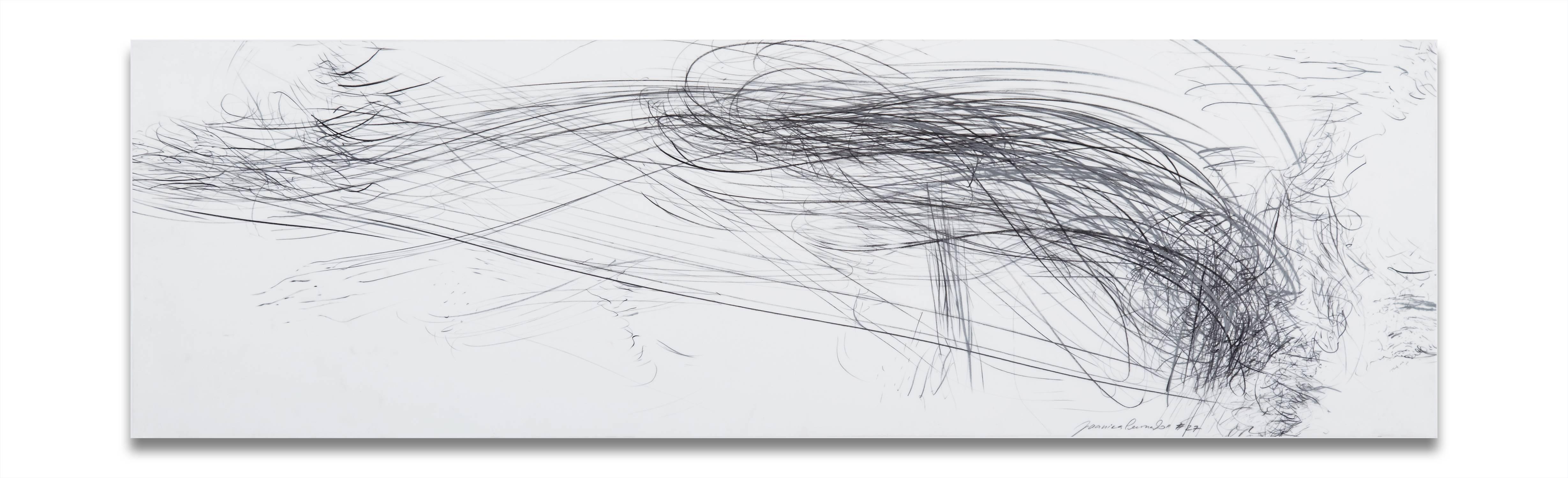 Storm series horizontal 40 (Abstract drawing)