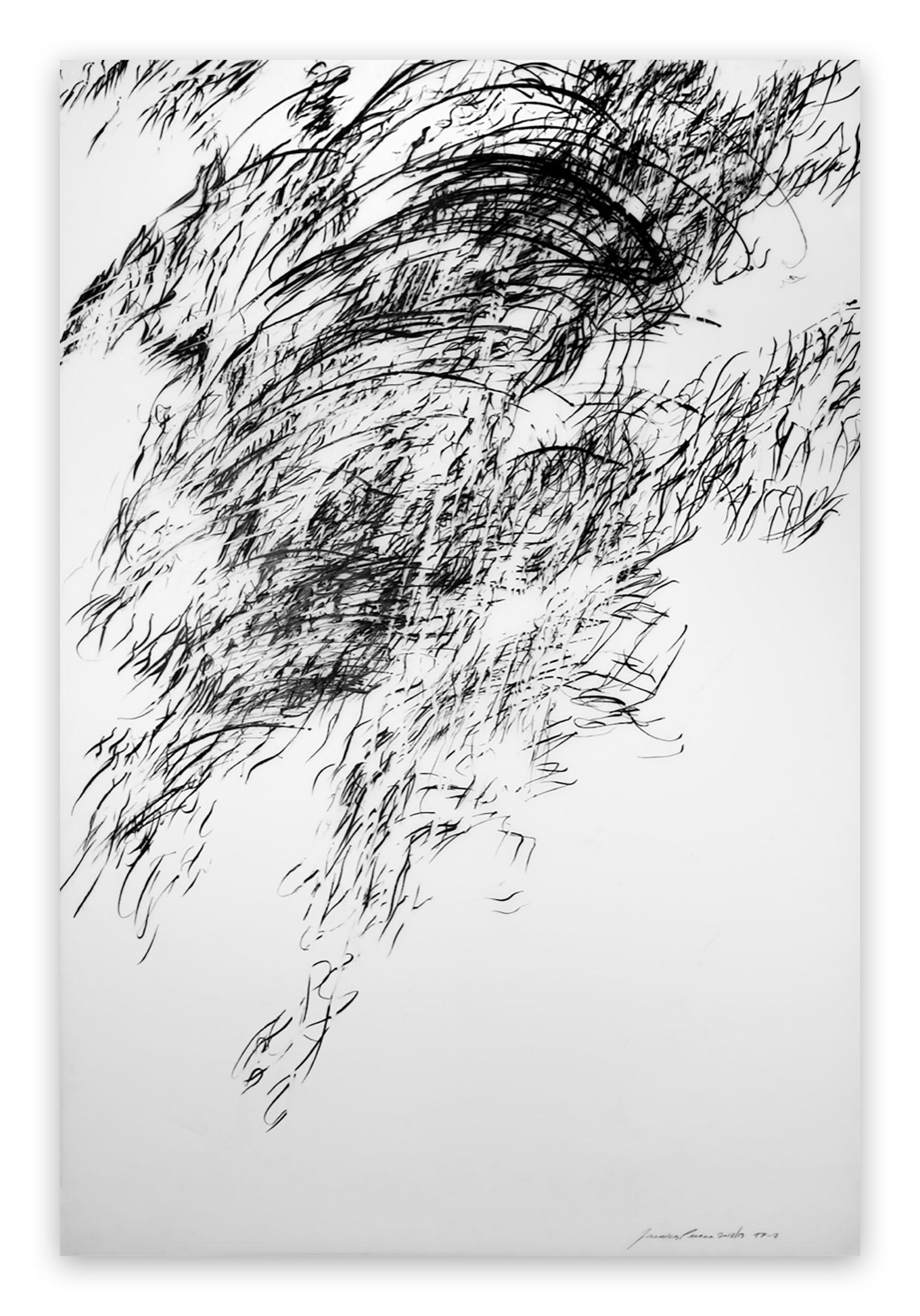 Tipping Point #7 (Abstract drawing)