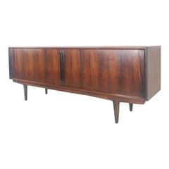 Jacaranda Rosewood Sideboard by Gunni Omann for Omann Jun Mobelfabrik