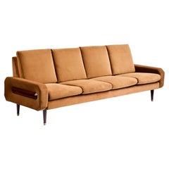 60's Rosewood Sofa