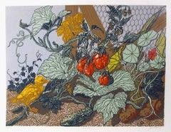 Garden, Silkscreen by Jack Beal