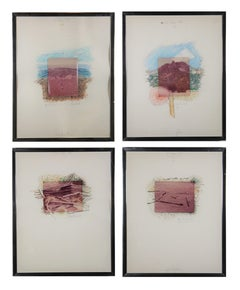 Collection of Mixed Media Works Inspired by Big Bend