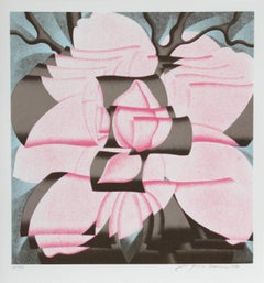 Magnolia, Pop Art Silkscreen by Jack Brusca