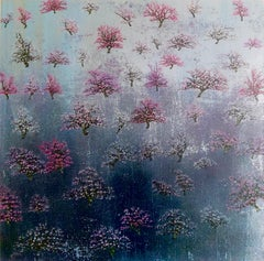 Coral Bloom - Contemporary Landscape Painting by Jack Frame
