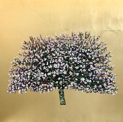 Countess Gold Apple Blossom - Contemporary Landscape Painting by Jack Frame