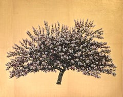Countess Gold Blossom - Contemporary Landscape Painting by Jack Frame
