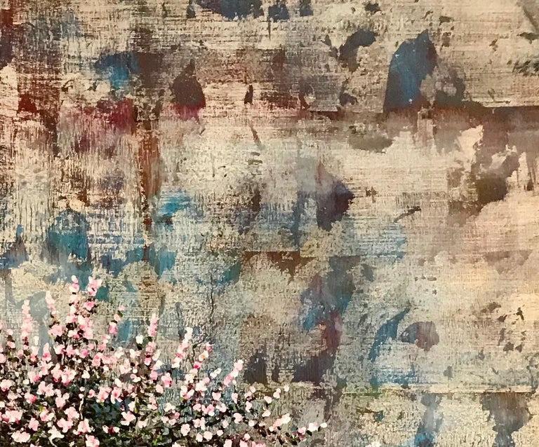 Eve - Abstract Landscape Mixed Media painting by Jack Frame For Sale 2