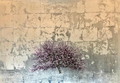 Cherry Silver Sapphire - Contemporary Landscape Painting by Jack Frame