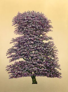 Pixie Bloom - Contemporary Landscape Painting by Jack Frame