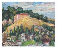 """Big Condo"" San Francisco Landscape, Oil on Canvas, 2006"