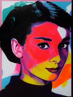 Audrey Hepburn Icon VI