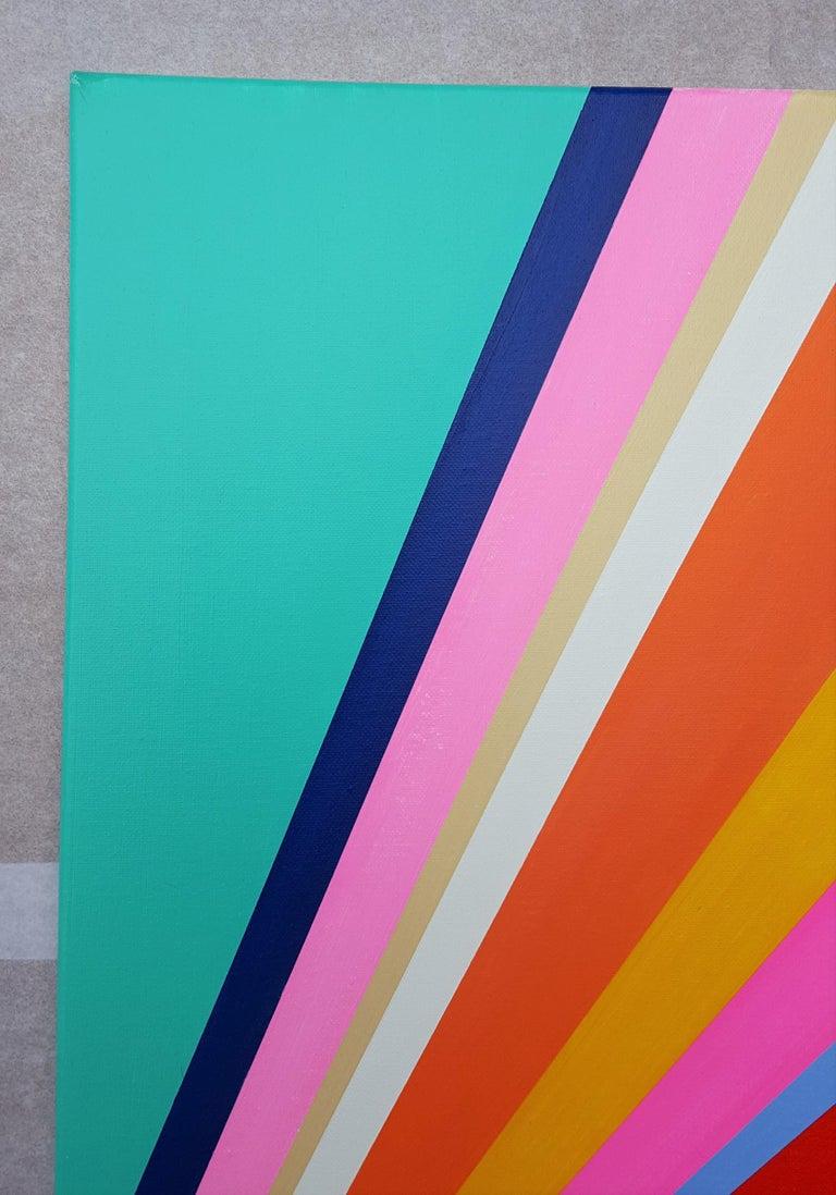 Diamond XVIII - Abstract Geometric Painting by Jack Graves III