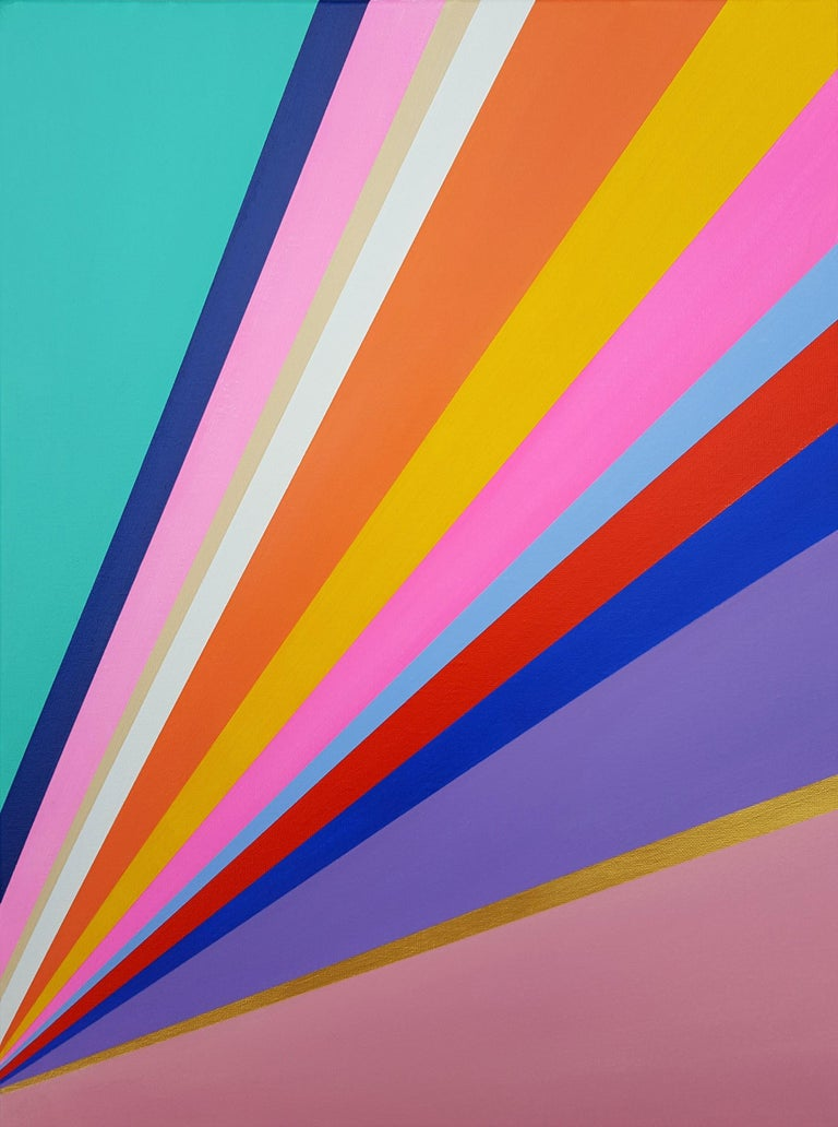 Jack Graves III Abstract Painting - Diamond XVIII