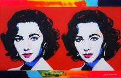 Elizabeth Taylor x2 Icon