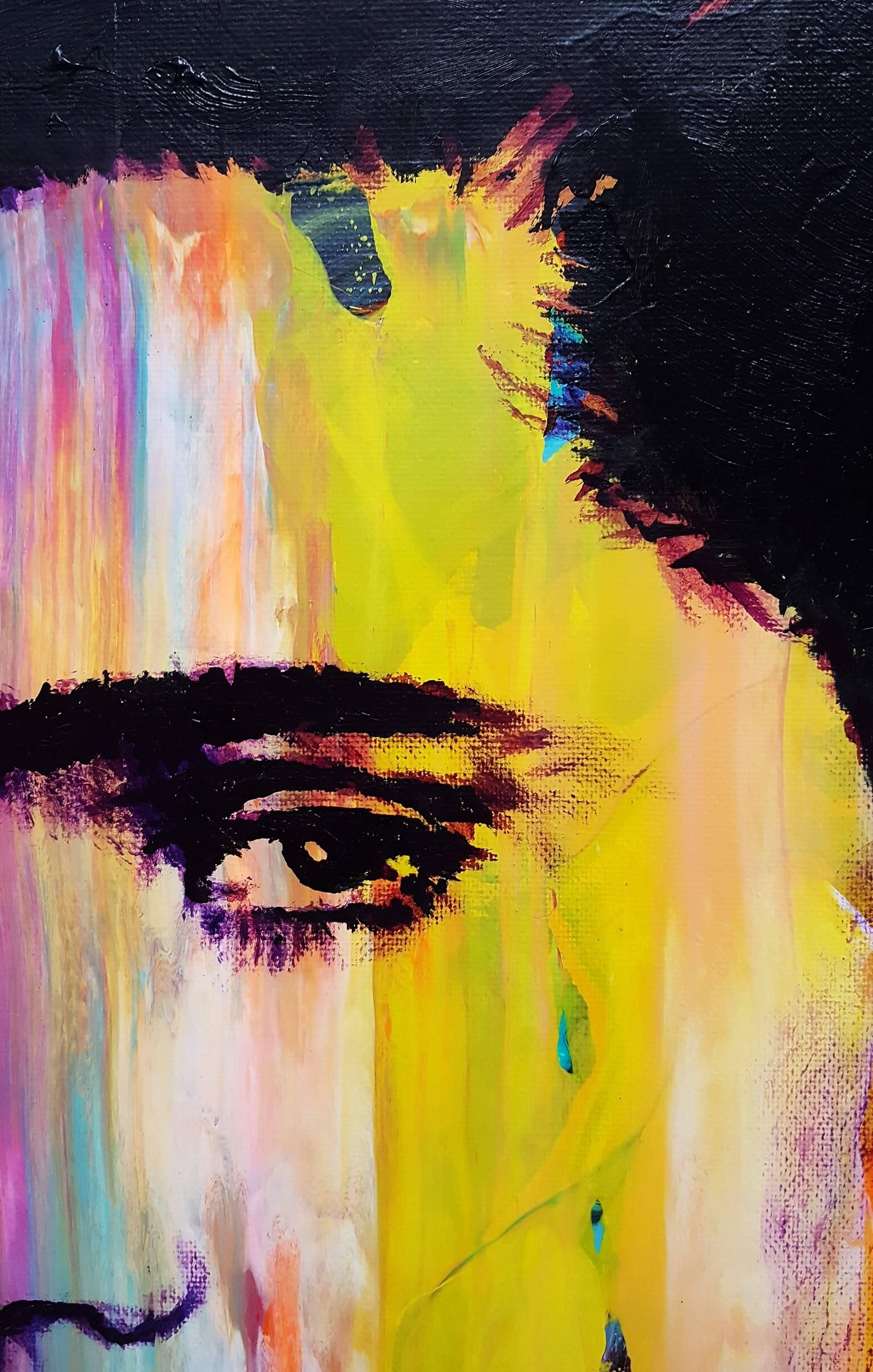 Jack Graves III - Elvis Presley Icon III, Painting at 1stdibs