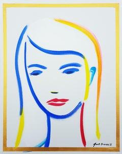 Female Face Icon II
