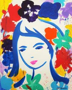 Female Face Icon III