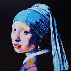Girl with Pearl Earring Icon (Vermeer)