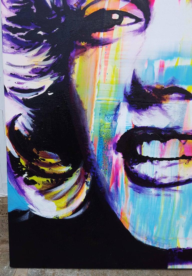 Marilyn Monroe Icon III - Painting by Jack Graves III