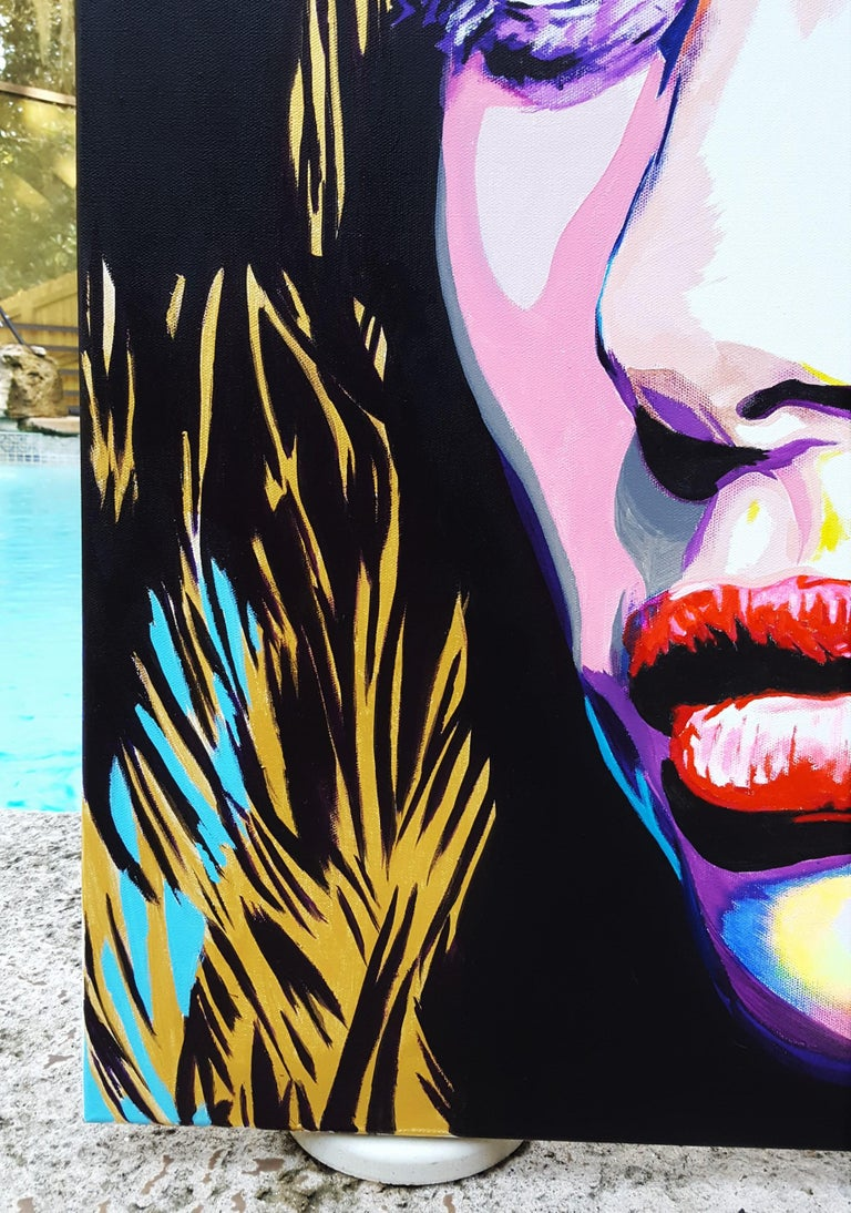 Taylor Hill Icon - Painting by Jack Graves III
