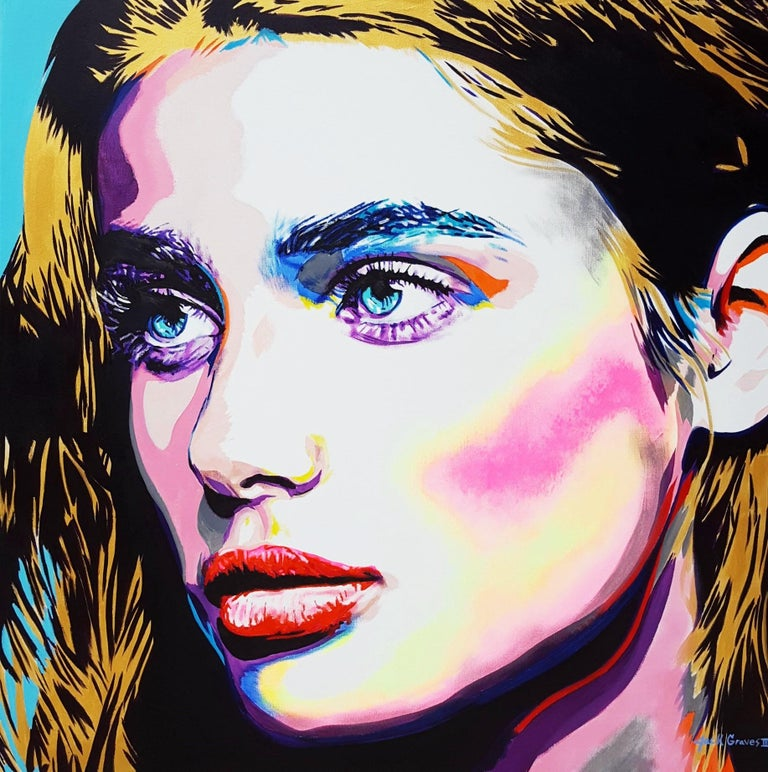 Jack Graves III Portrait Painting - Taylor Hill Icon